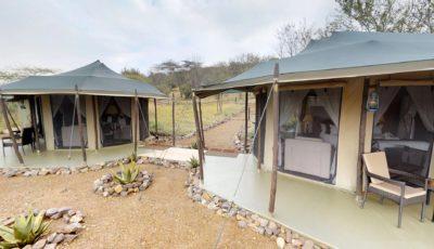 Ole Serai Luxury Camp- Moru Kopjes – Interconnected  Family Rooms 3D Model