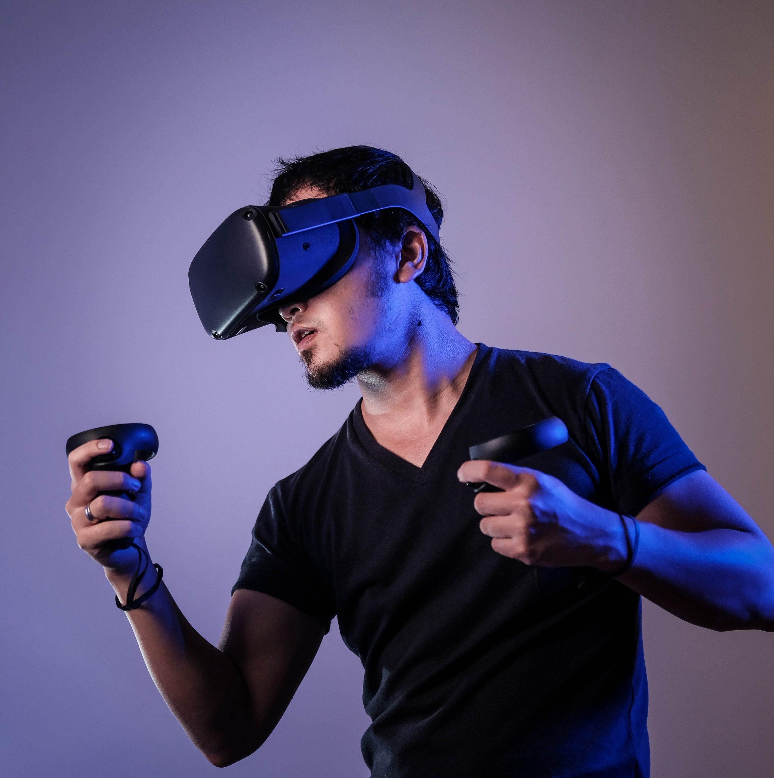 virtual reality agency in London demonstration photo