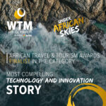 Winners of WTM Africa award - Most compelling Technology and innovation story